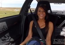Video: Another Attractive Girl Rides in 900hp Mitsubishi Evolution