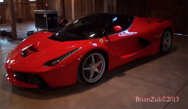 Video: 2014 Ferrari LaFerrari Found in Pebble Beach Barn