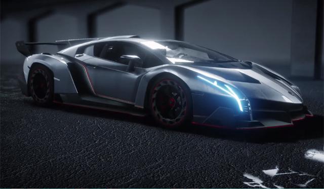 Need For Speed Rivals Features Lamborghini Veneno