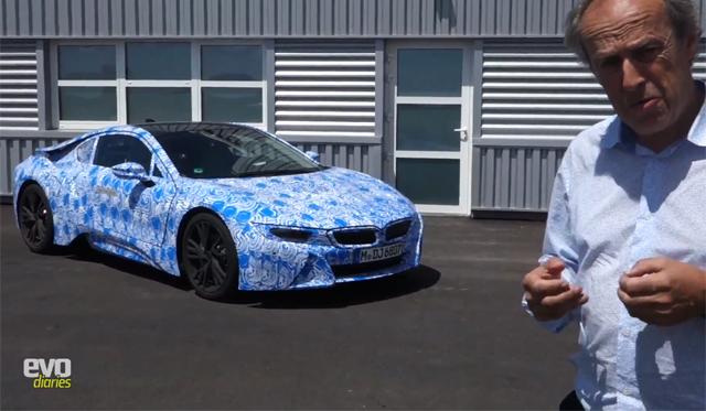 Video: Evo Drives 2014 BMW i8 Prototype