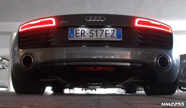 Video: Ride in 2014 Audi R8 V10 S-Tronic
