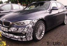 Video: 2014 Alpina B3 BiTurbo and 2014 D3 Touring at the 'Ring