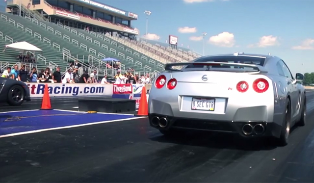 Video: Alpha 16 Nissan GT-R Hits 60mph in 1.7 Seconds, 1/4 Mile in 8.28