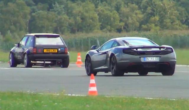 Video: Twin-Engined Opel Corsa A Humiliates McLaren 12C