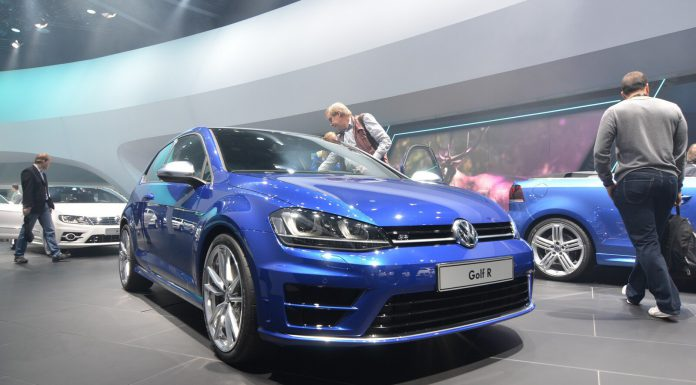 Volkswagen Golf R at Frankfurt