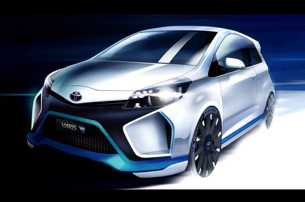 Teaser: 400hp Toyota Yaris Hybrid-R