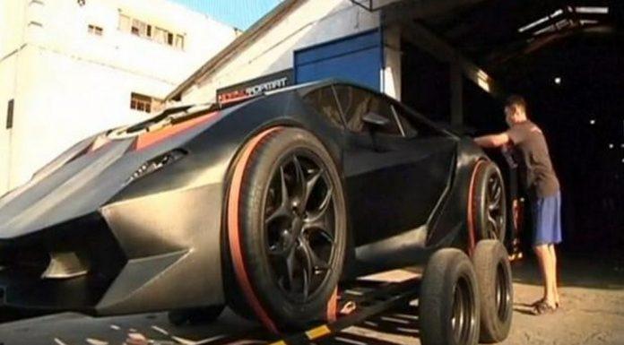 Overkill: Lamborghini Sesto Elemento Replica From Kyrgyzstan