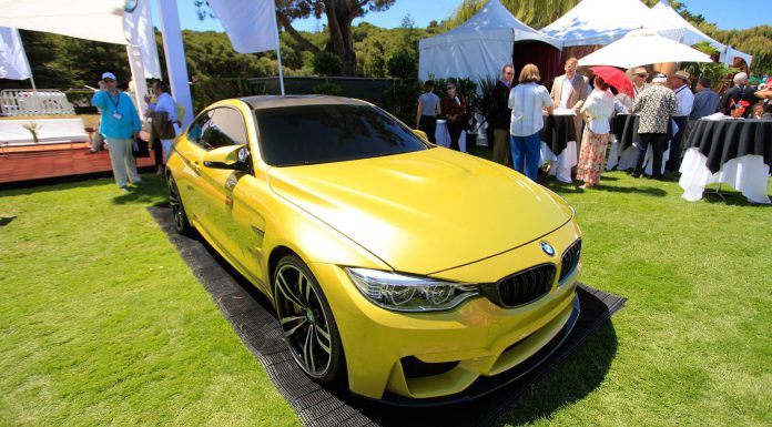 BMW Concept M4 Coupe at The Quail