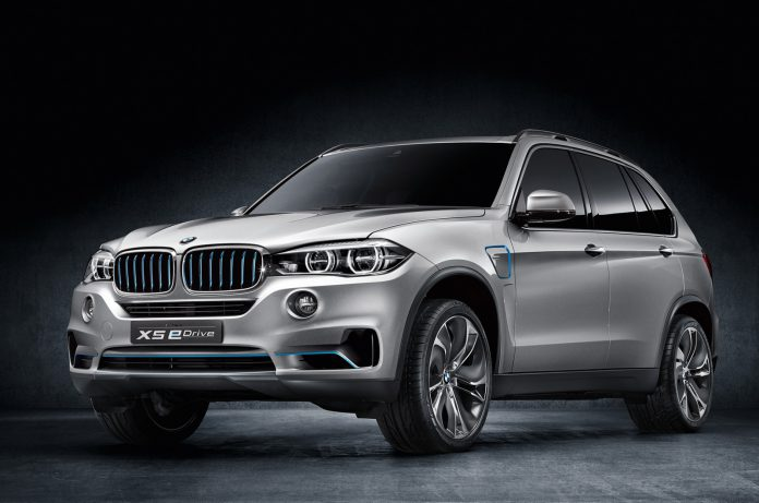Official: BMW Concept X5 eDrive Hybrid