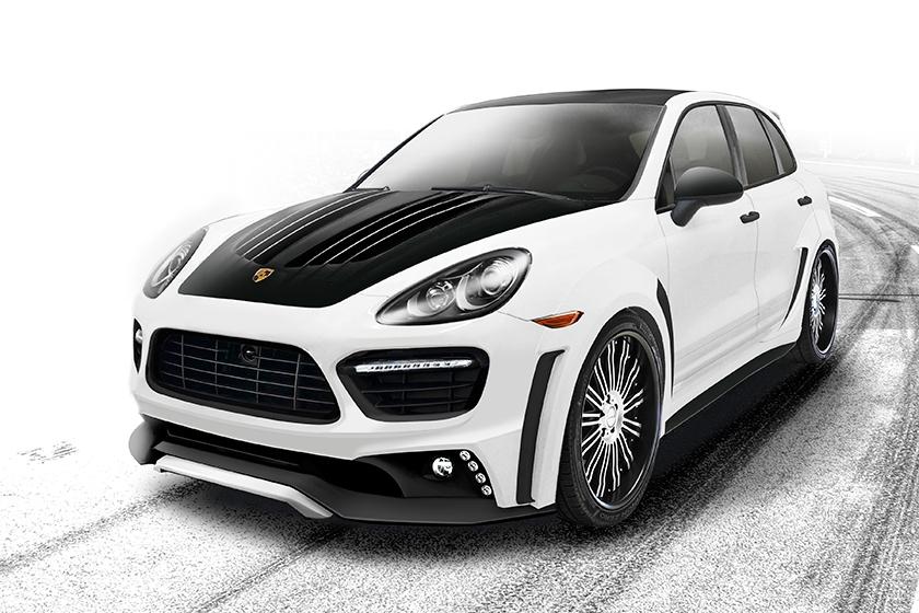 Preview: Porsche Cayenne Sports Line Black Bison Edition by Wald International