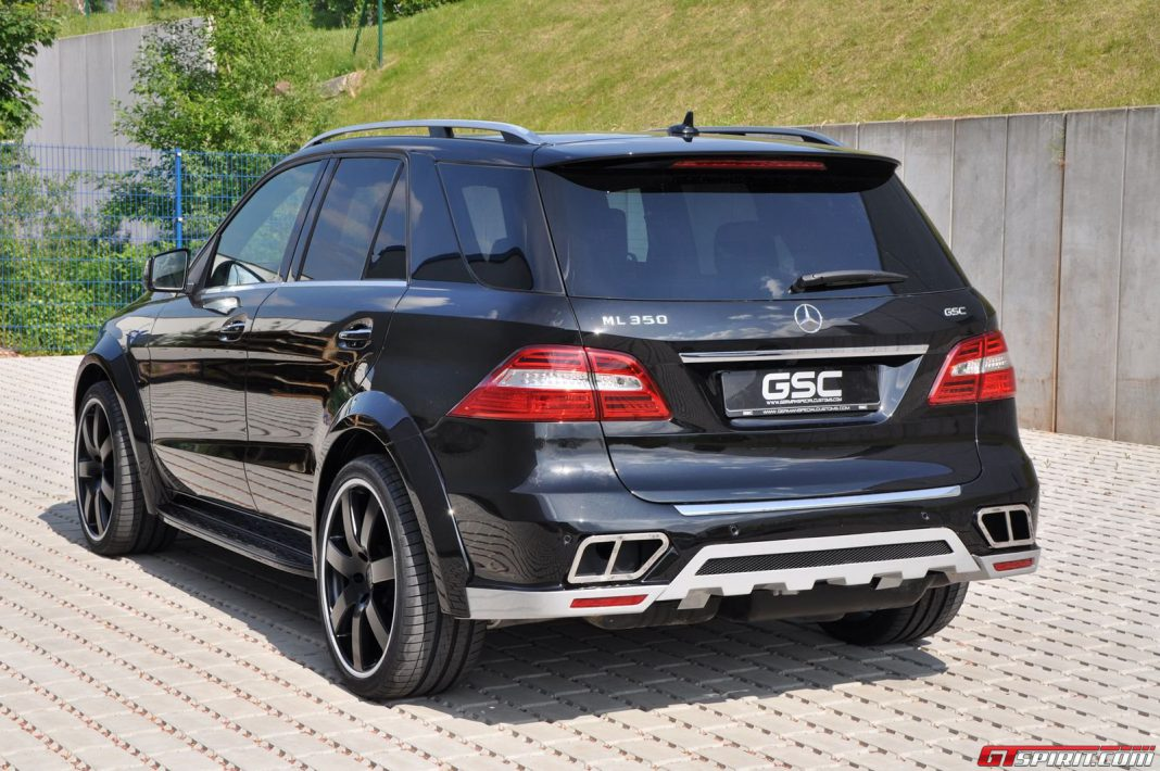 German Special Customs Wide Body Kit for Mercedes-Benz ML-Class