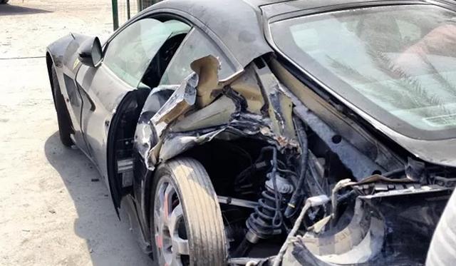 Car Crash: Ferrari F12 Berlinetta Wrecked in Dubai After Just 100km