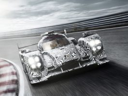 New Images of 2014 Porsche LMP1 Prototype