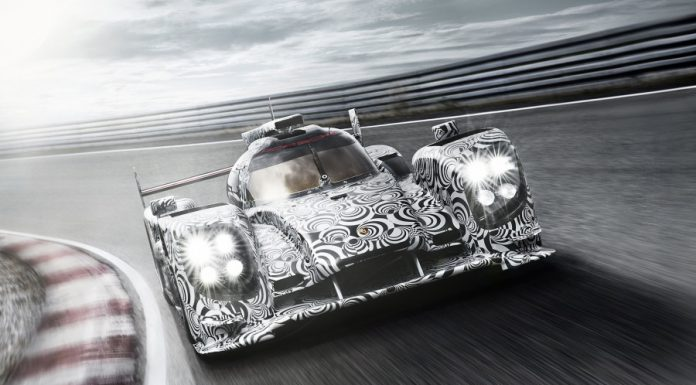 New Images of 2014 Porsche LMP1 Prototype