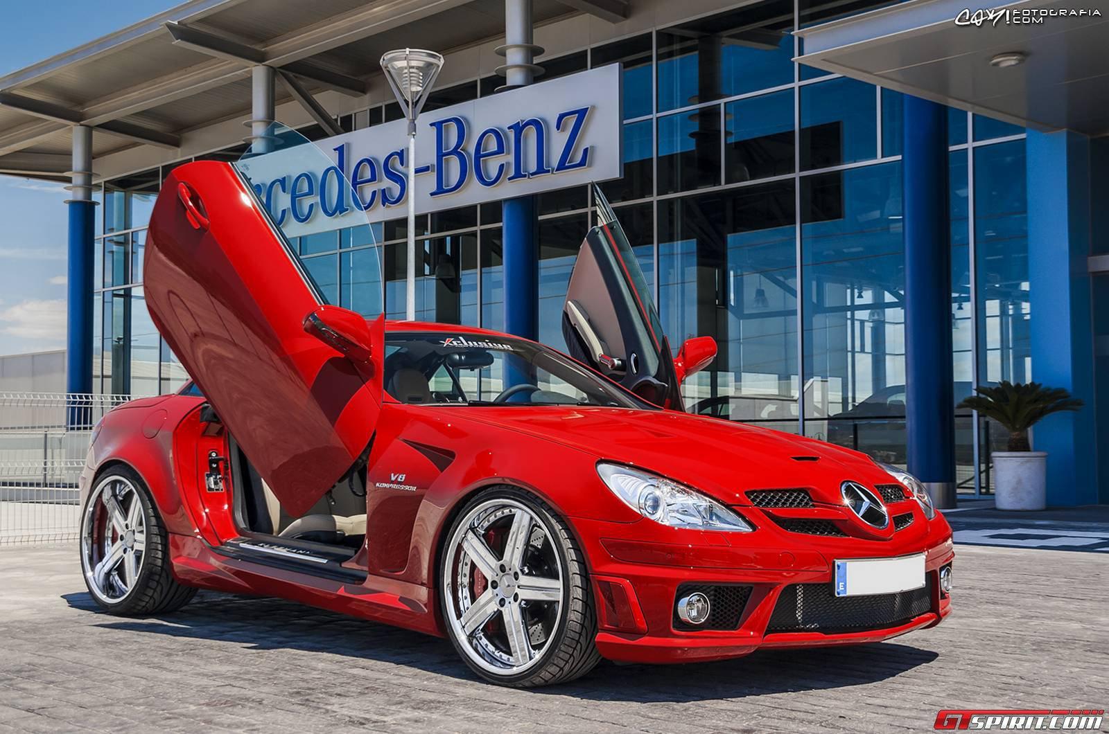Mercedes Benz Slk55 Amg By Xclusive Gtspirit