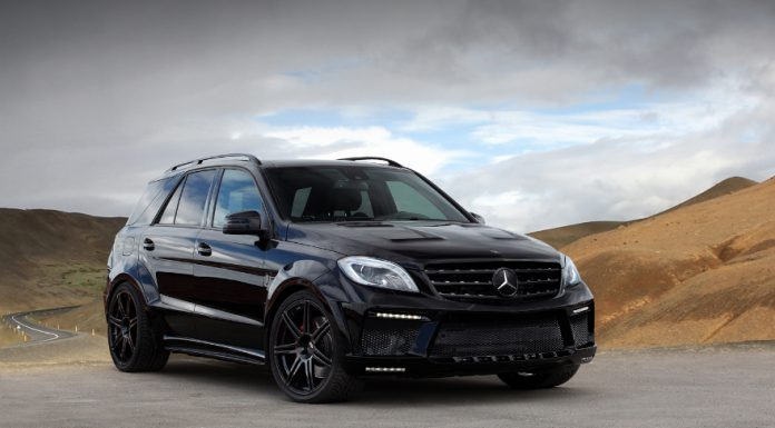Official: 2013 Mercedes-Benz ML63 AMG Inferno Black by TopCar