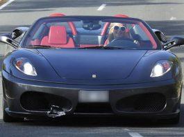 Paris Hilton Damages Friends Ferrari F430 Spider in Ibiza