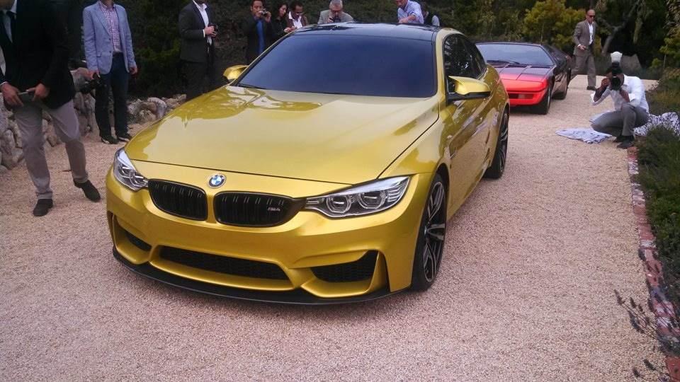 Monterey 2013: BMW M4 Coupe Concept Live