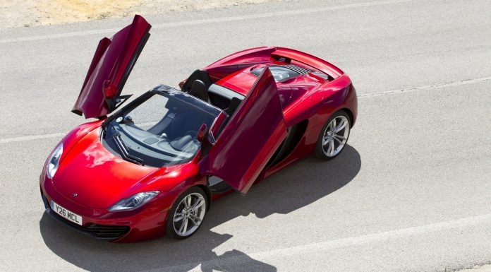 McLaren 12C Getting all Android on us With New IRIS System