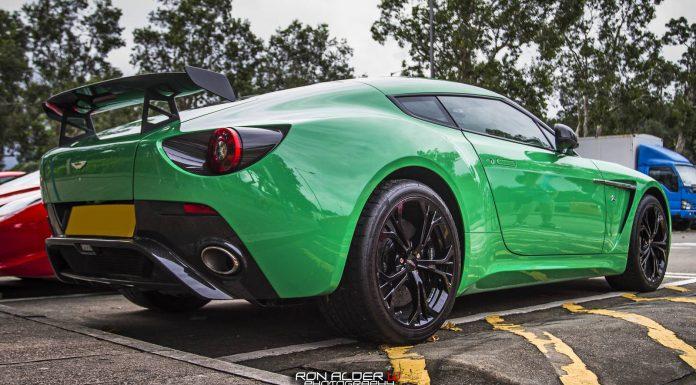 Photo Of The Day: Green Aston Martin V12 Zagato