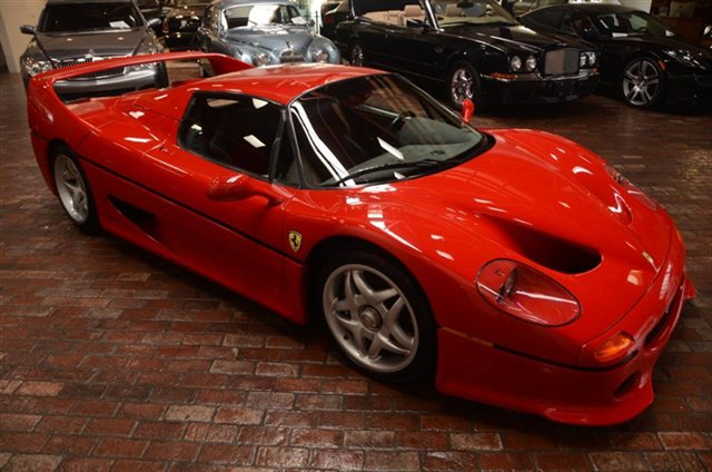 For Sale: $850k 1995 Ferrari F50
