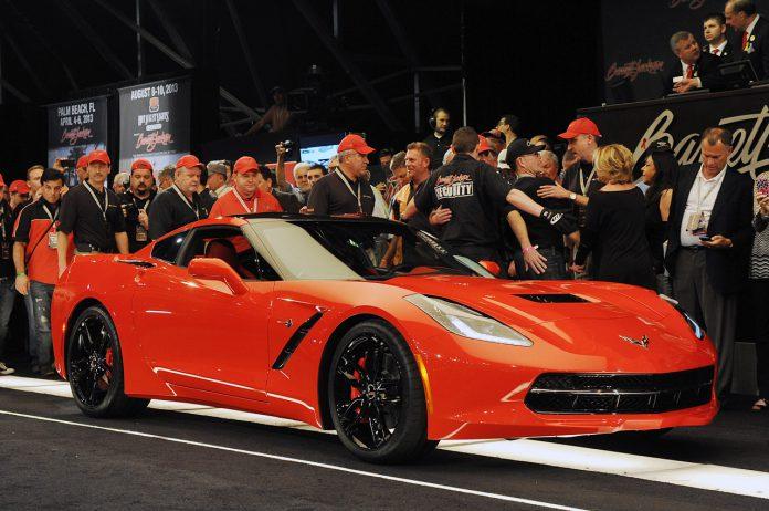 NASCAR Team Owner Receives his $1.1 Million 2014 Corvette Stingray