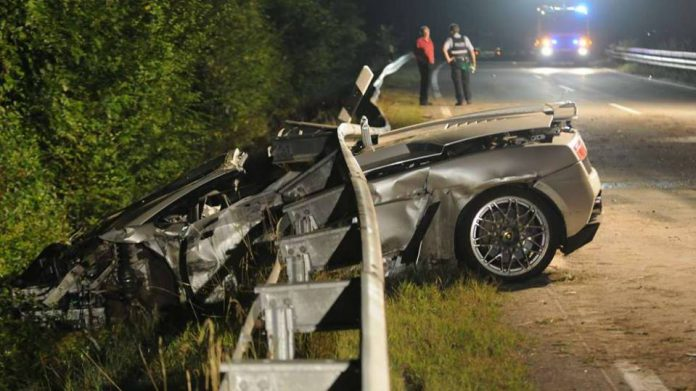 Horrific Lamborghini Gallardo Crash Leaves Man Dead