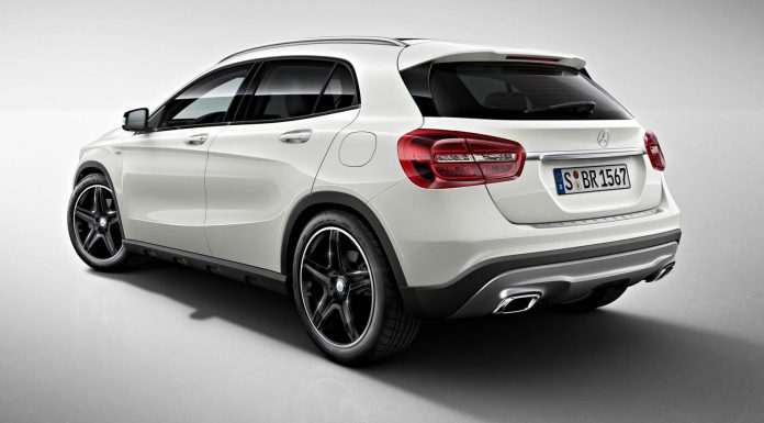 Official: Mercedes-Benz GLA-Class Edition 1