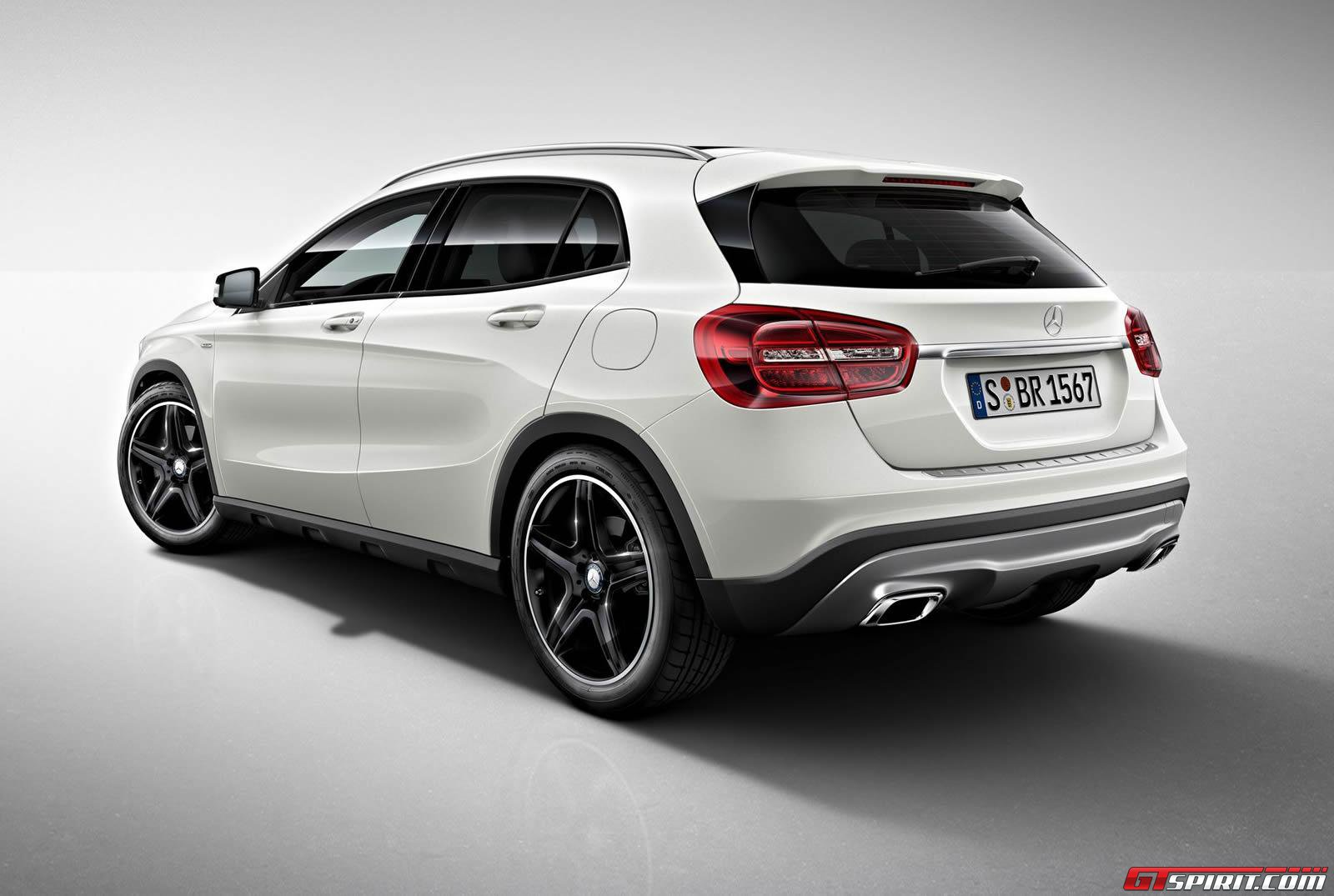 official mercedes benz gla class edition 1 gtspirit. Black Bedroom Furniture Sets. Home Design Ideas
