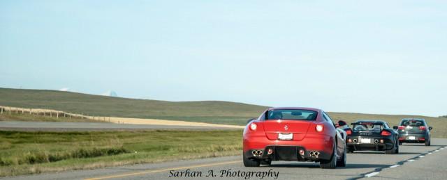 599 GTB and Carrera GT