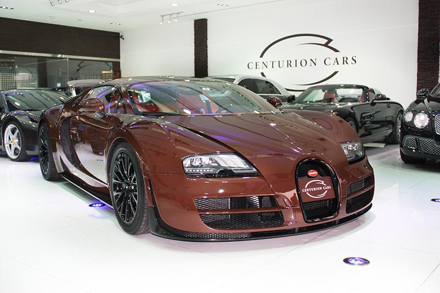 Dark Brown Bugatti Veyron Super Sport Still Sticking Around