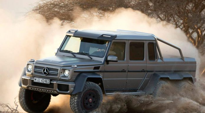 Have a Spare $513k? You Still Probably Can't Buy the Mercedes-Benz G63 AMG 6×6
