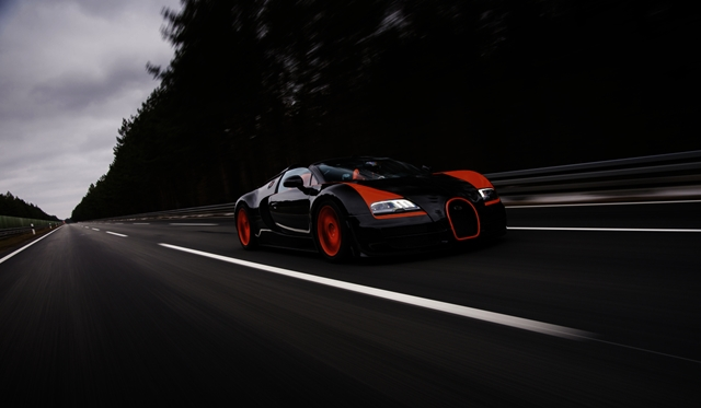 """Bugatti Veyron voted """"Greatest Car of the last 20 years"""" by BBC Top Gear Magazine Readers"""