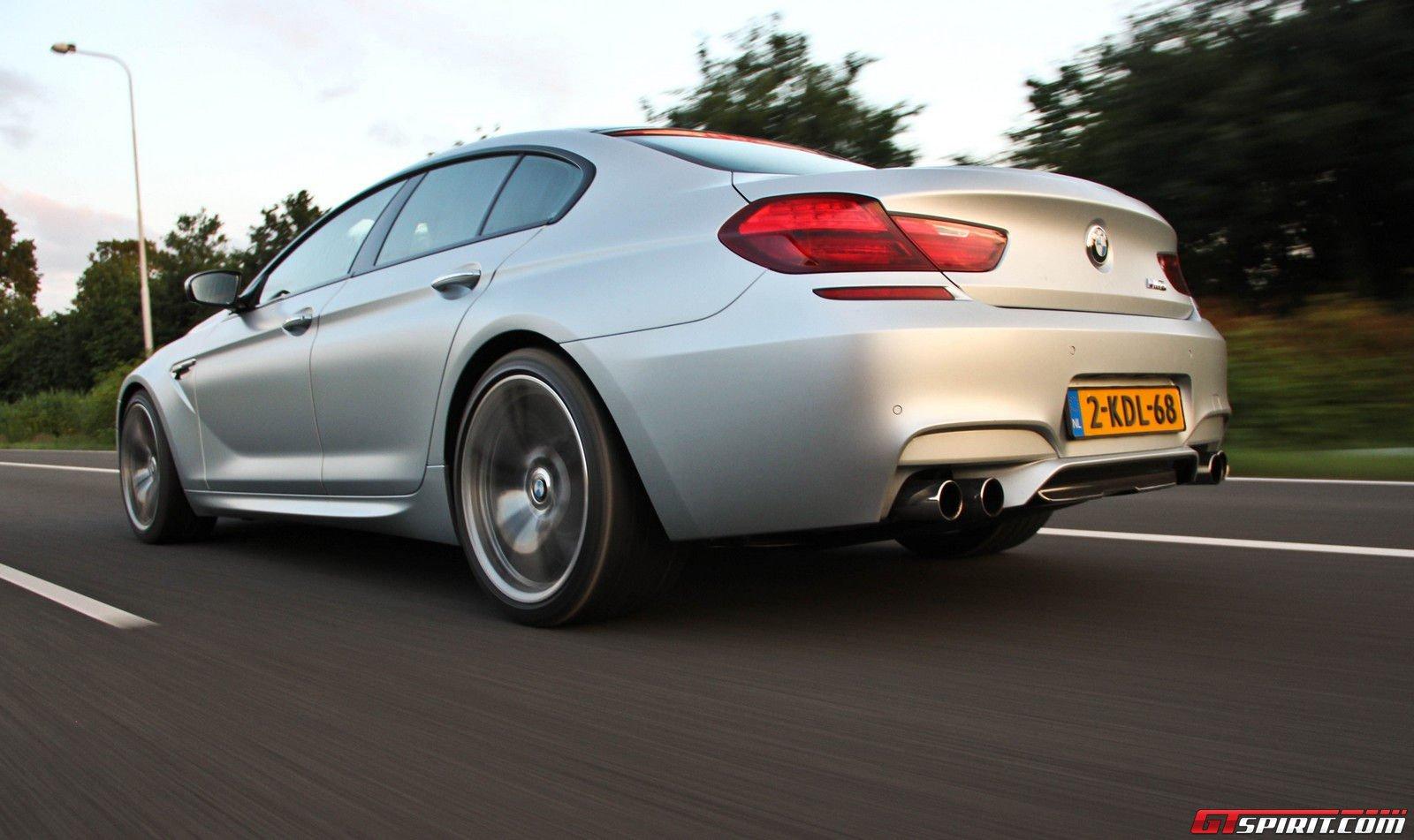 2014 BMW M6 Gran Coupe Rear Driving