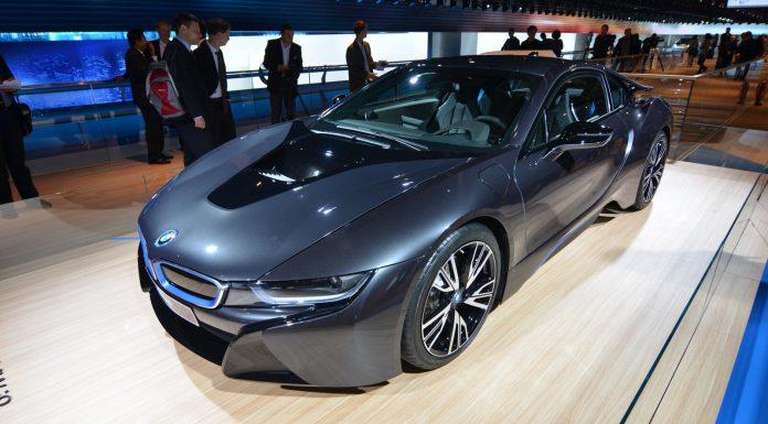2014 BMW i8 Side