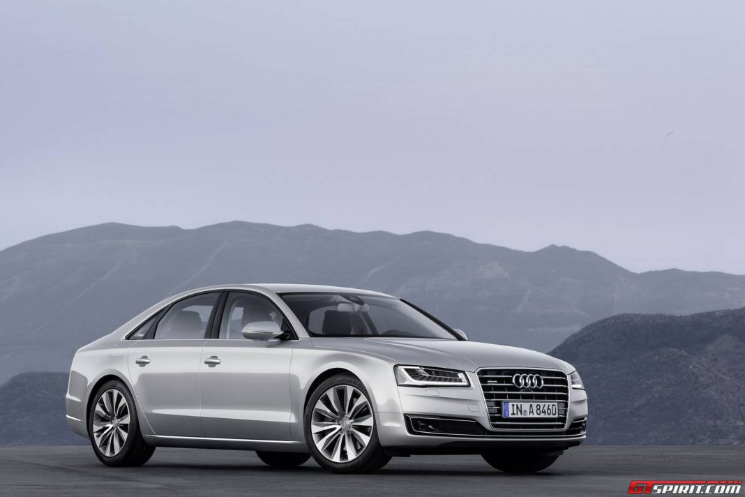 Audi A8 e-tron on the Horizon
