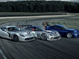 SRT Viper Receives Rain Mode and New Colours
