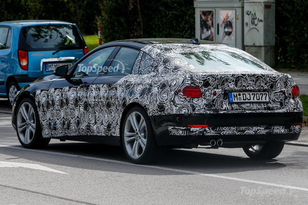 BMW 4-Series Grancoupe Heading Our Way