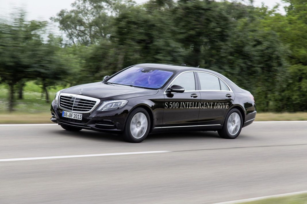 Mercedes-Benz S-Class Travels 60 Miles in Full Autonomous Mode