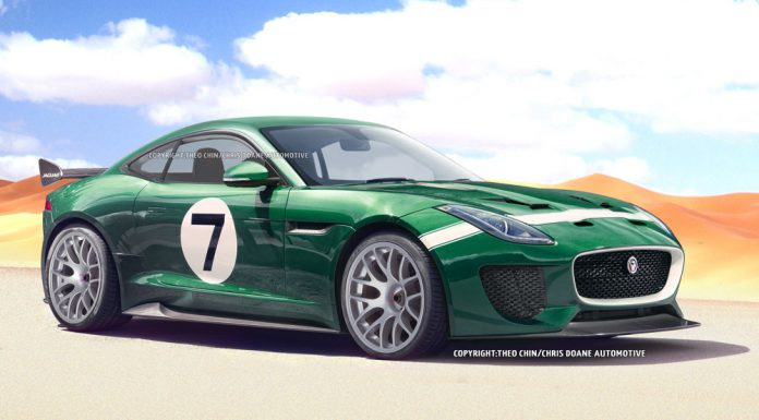 Jaguar F-Type Coupe GT3 Envisioned
