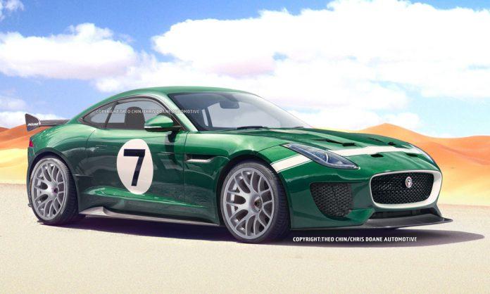 Jaguar F-Type Coupe GT3 Envisioned