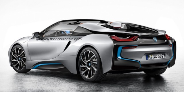 BMW i8 Spyder Imagined by Theophilus Chin