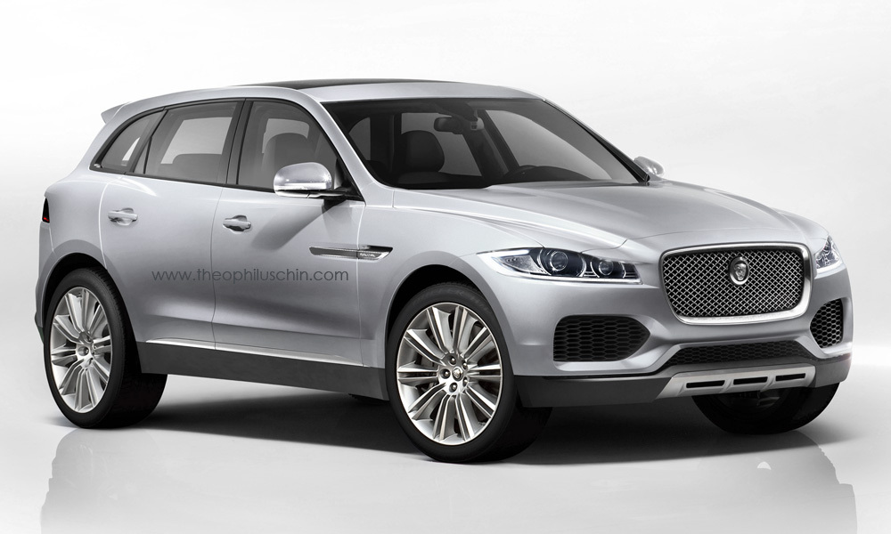 Production-Ready Jaguar C-X17 Crossover Imagined