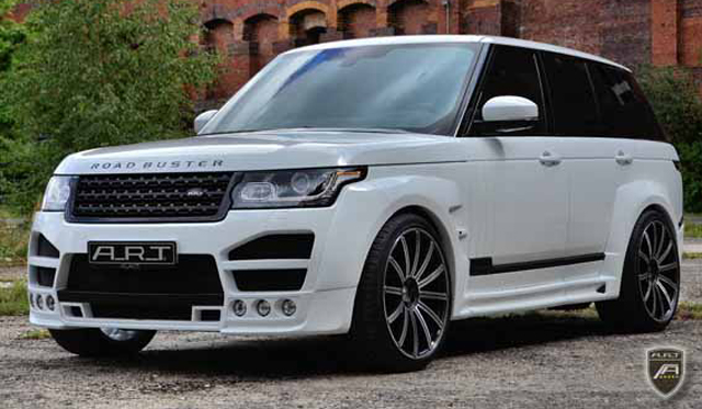 Official: A.R.T. Range Rover 'Road Buster'