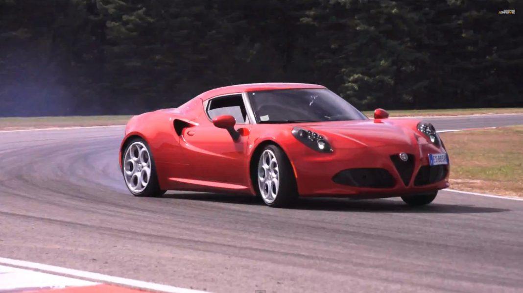 Alfa Romeo 4C Drive
