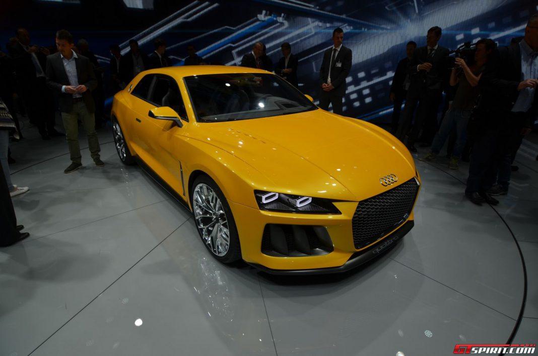 Audi Quattro Concept Frankfurt Front