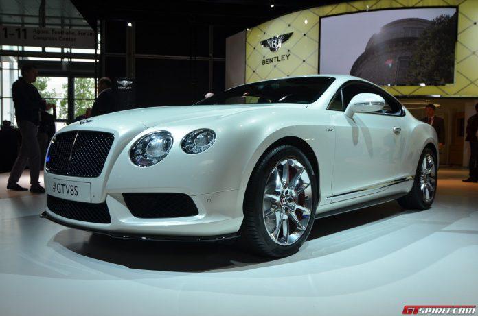 Bentley Continental GT V8 S Coupe at Frankfurt