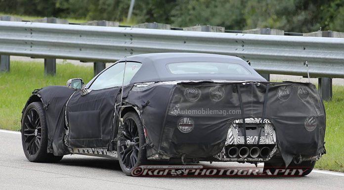 Chevrolet Corvette Z07 Snapped Under Camouflage