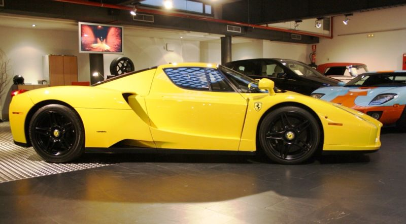 rare yellow ferrari enzo could be your own bumblebee - Ferrari 2014 Yellow