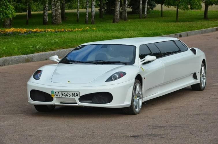 Peugeot 406 Coupe-Based Ferrari F430 Limo is Overkill Galore